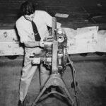 Dorrance (Don) Cook, Instructor School of Aviation Trades, Manhattan, c.1940s